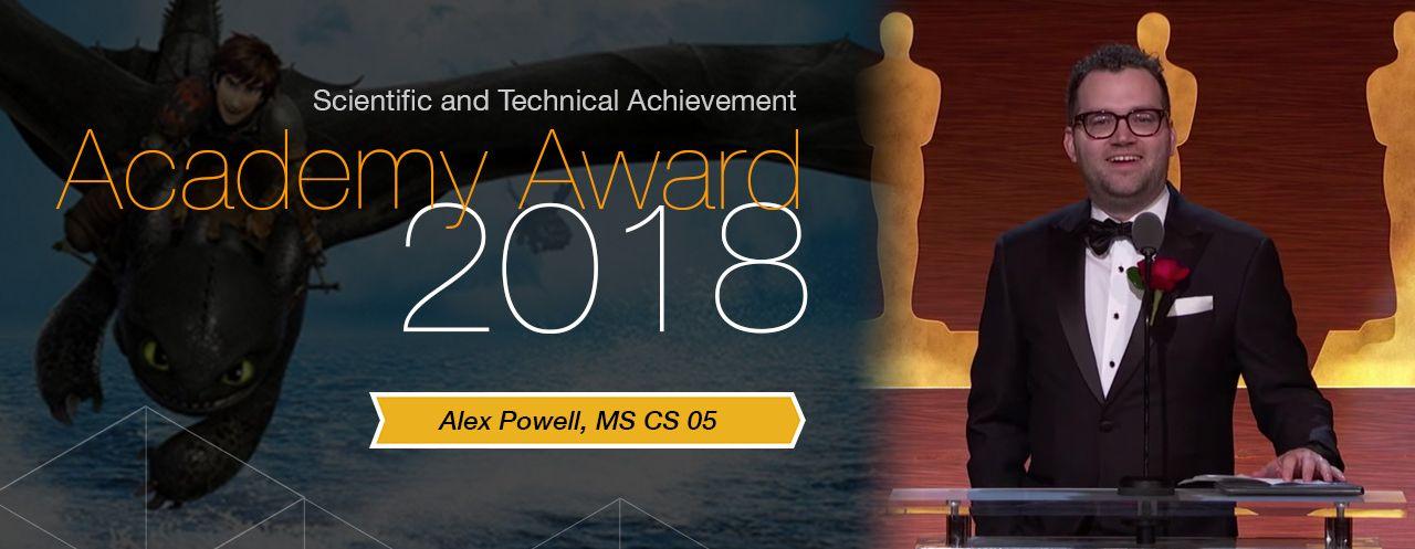 Alex Powell, Academy Award