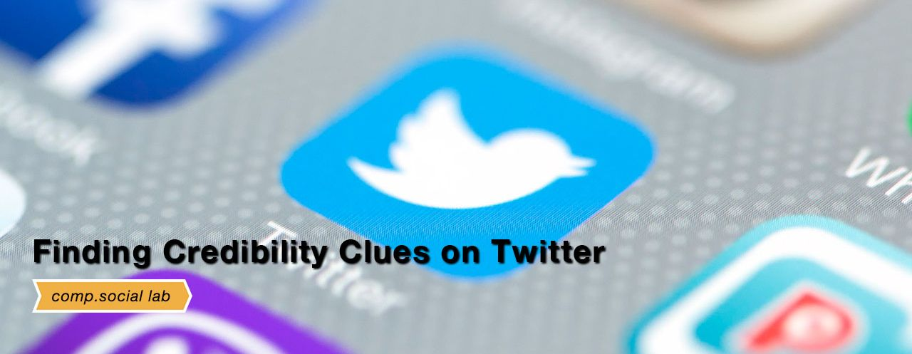 Credibility Clues on Twitter