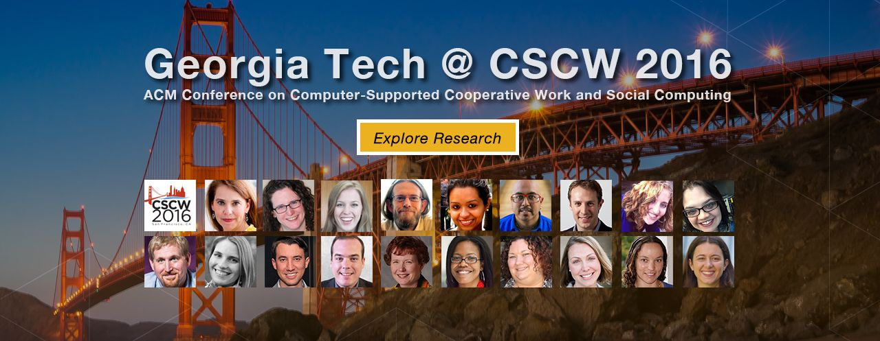 CSCW 2016 conference promo