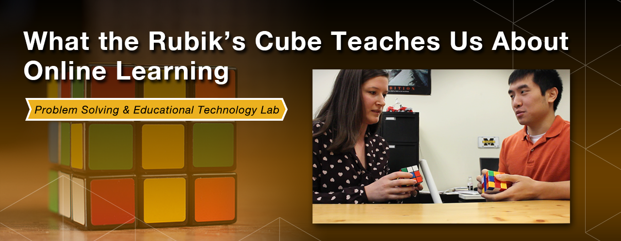 What the Rubik's Cube teaches us about online learning